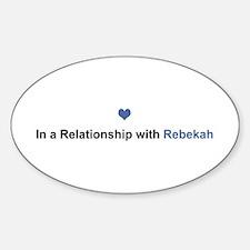 Rebekah Relationship Oval Decal