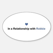 Robbie Relationship Oval Decal