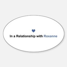 Roxanne Relationship Oval Decal