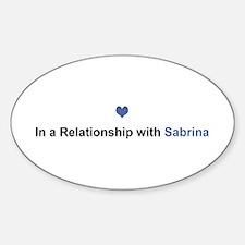Sabrina Relationship Oval Decal