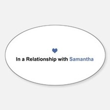 Samantha Relationship Oval Decal
