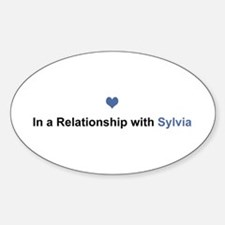 Sylvia Relationship Oval Decal