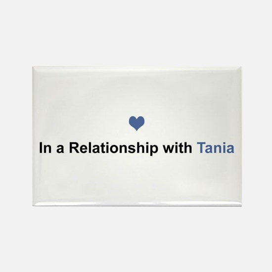 Tania Relationship Rectangle Magnet