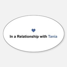 Tania Relationship Oval Decal