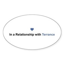 Terrance Relationship Oval Decal