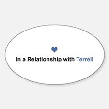 Terrell Relationship Oval Decal