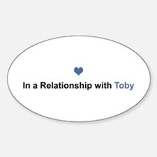 Toby Relationship Oval Decal