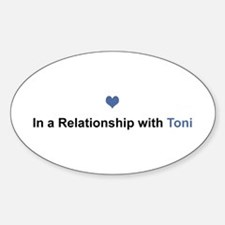 Toni Relationship Oval Decal