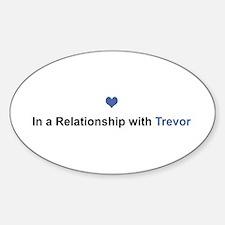 Trevor Relationship Oval Decal
