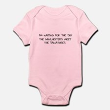Winchesters meet the Salvatores Infant Bodysuit