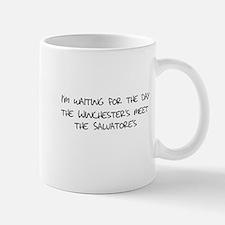 Winchesters meet the Salvatores Mug