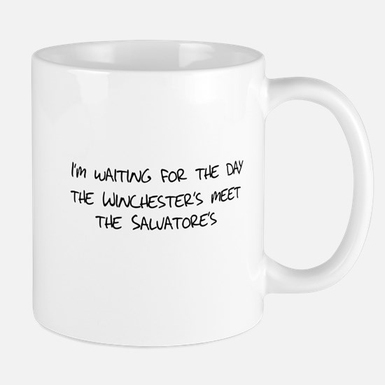 Winchesters meet the Salvatores Mug