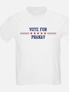 Vote for PRANAV Kids T-Shirt
