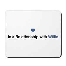 Willie Relationship Mousepad