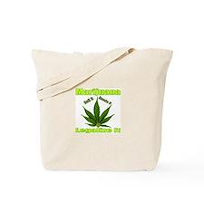 Marijuana Roll It Smoke It Legalized Tote Bag