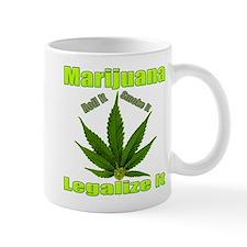 Marijuana Roll It Smoke It Legalized Mug