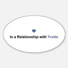 Yvette Relationship Oval Decal