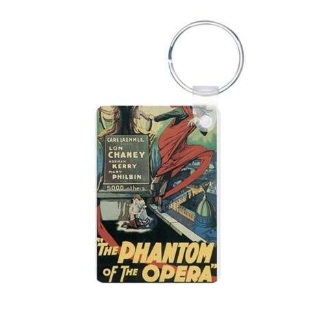 the phantom of the opera Aluminum Photo Keychain