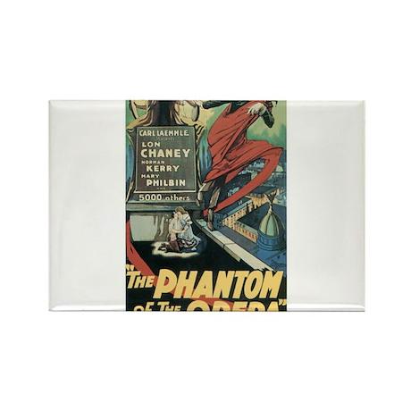 the phantom of the opera Rectangle Magnet (100 pac