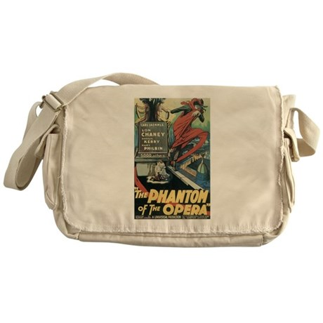 the phantom of the opera Messenger Bag
