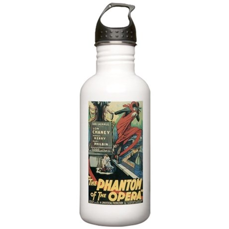 the phantom of the opera Stainless Water Bottle 1.