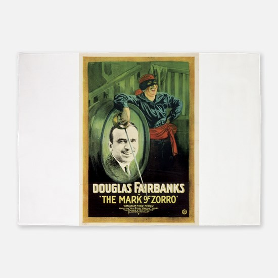 douglas fairbanks 5'x7'Area Rug
