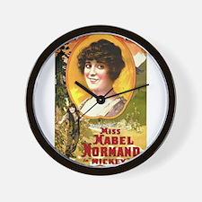 mabel normand Wall Clock