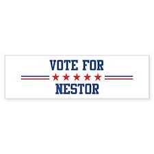 Vote for NESTOR Bumper Bumper Sticker