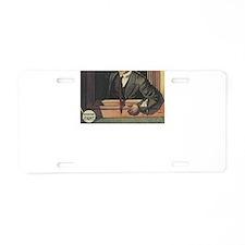 houdini Aluminum License Plate