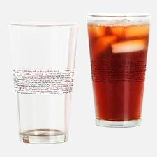 Cute Emmett Drinking Glass