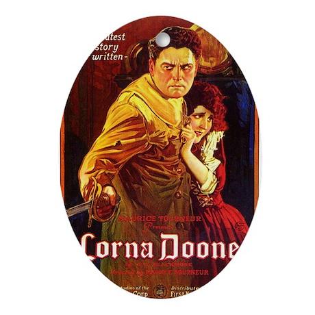 lorna doone Ornament (Oval)