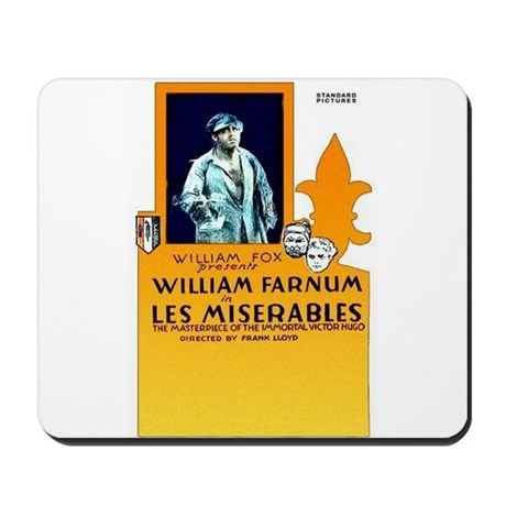 les miserables Mousepad