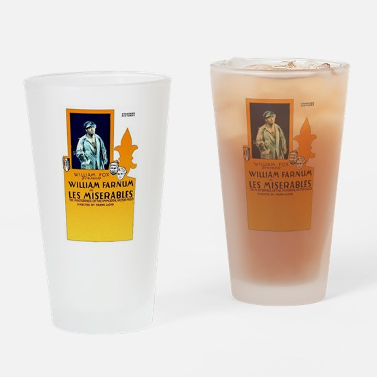 les miserables Drinking Glass