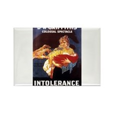 intolerance Rectangle Magnet