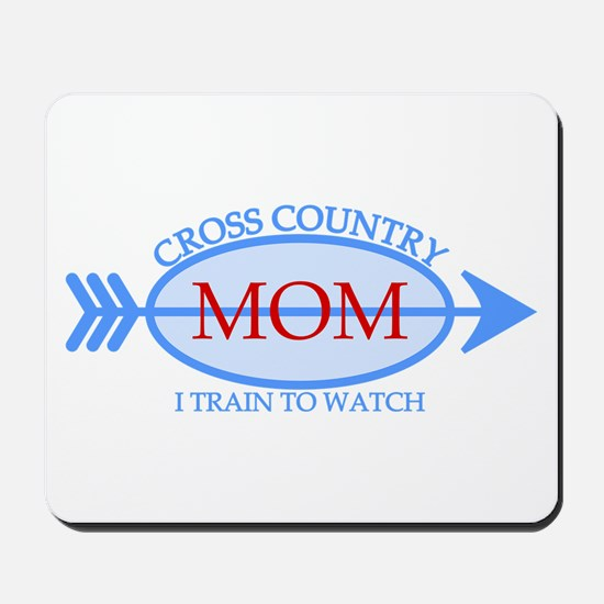 Cross Country Mom Train to Watch Mousepad