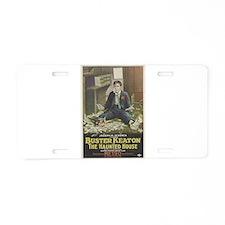buster keaton Aluminum License Plate