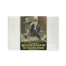 buster keaton Rectangle Magnet