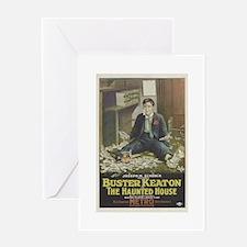 buster keaton Greeting Card
