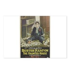buster keaton Postcards (Package of 8)