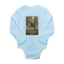 buster keaton Long Sleeve Infant Bodysuit