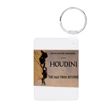 houdini Aluminum Photo Keychain