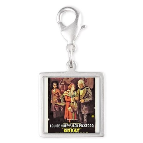 great expectations Silver Square Charm