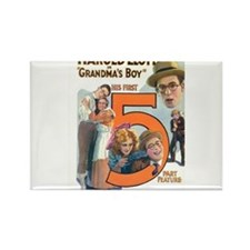 harold lloyd Rectangle Magnet