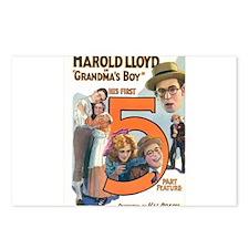 harold lloyd Postcards (Package of 8)