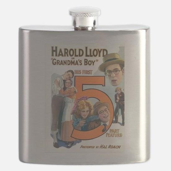 harold lloyd Flask