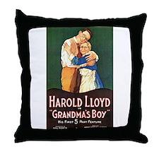 harold lloyd Throw Pillow