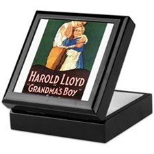 harold lloyd Keepsake Box