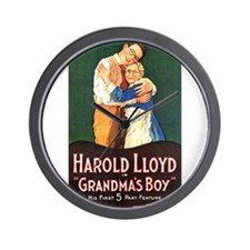 harold lloyd Wall Clock