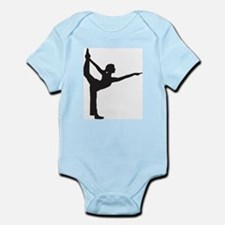 Bikram Yoga Bow Pose Infant Bodysuit
