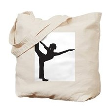 Bikram Yoga Bow Pose Tote Bag